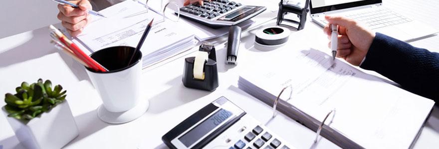 Une société d'expertise comptable